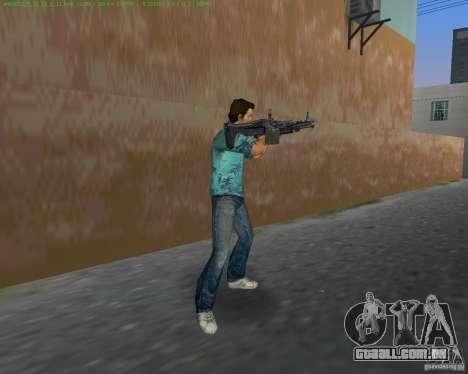 O novo M-60 para GTA Vice City por diante tela