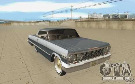 Voodoo para GTA San Andreas vista traseira
