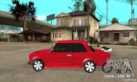 VAZ 2101 2 portas coupe para GTA San Andreas esquerda vista