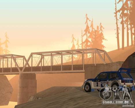 MG Metro 6M4 Group B para GTA San Andreas vista traseira