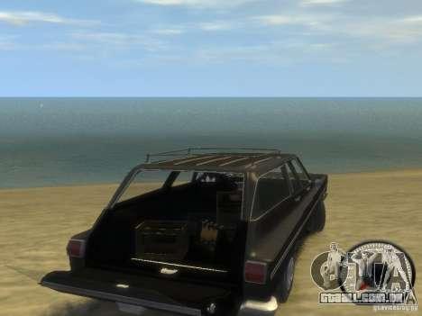 Plymouth Belvedere Wagon 1965 v1.0 para GTA 4 vista direita