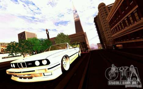 BMW E30 M3 Cabrio para as rodas de GTA San Andreas