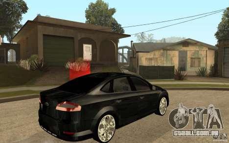 Ford Mondeo 2009 para GTA San Andreas vista direita