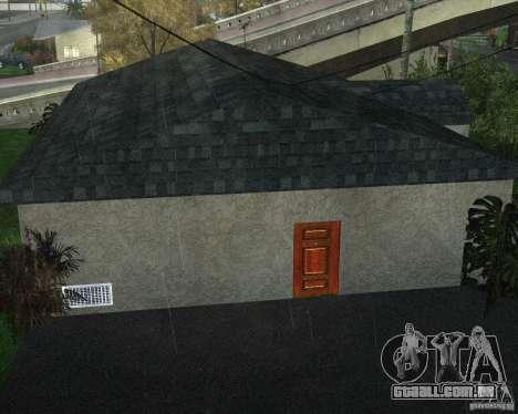 New Ryder House para GTA San Andreas quinto tela