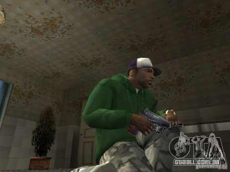 Pak domésticos armas V2 para GTA San Andreas oitavo tela