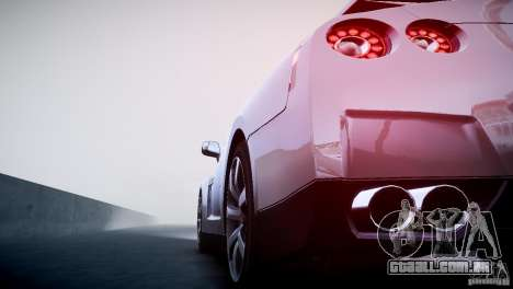 Nissan GT-R R35 V1.2 2010 para GTA 4 vista superior
