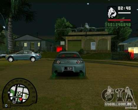 Mazda RX8 JDM Style para GTA San Andreas vista direita