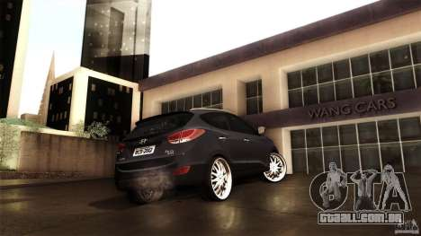 Hyundai iX35 Edit RC3D para GTA San Andreas vista interior