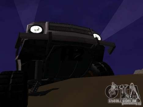 LuAZ 969 Offroad para GTA San Andreas vista traseira