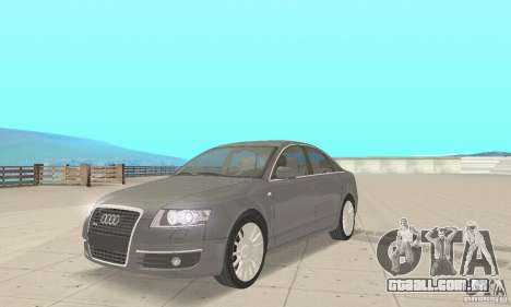 Audi A6 3.0 TDI quattro 2004 para GTA San Andreas traseira esquerda vista