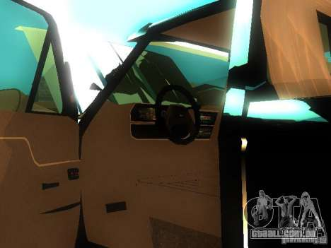 Ford F150 Off-Road para GTA San Andreas vista interior