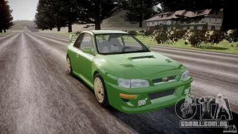 Subaru Impreza 22b 1998 (final) para GTA 4 vista de volta