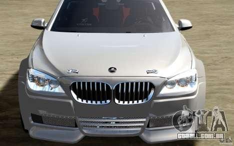 Telas de menu e arranque BMW HAMANN no GTA 4 para GTA San Andreas décima primeira imagem de tela