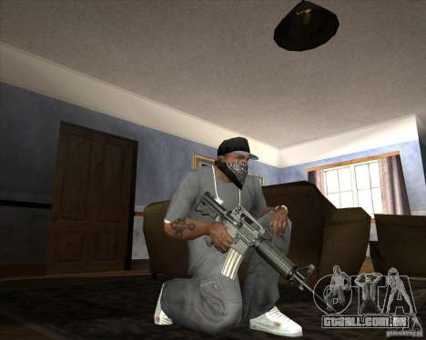 Jarra Mono Arsenal v1.2 para GTA San Andreas décima primeira imagem de tela