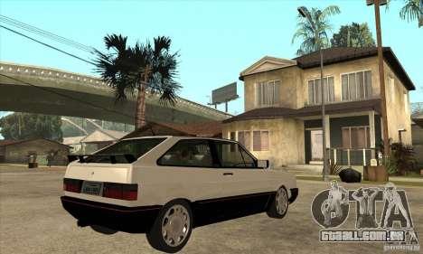 VW Gol GTS 1989 para GTA San Andreas vista direita