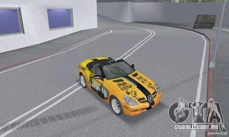 Mercedes-Benz SLK 350 para as rodas de GTA San Andreas