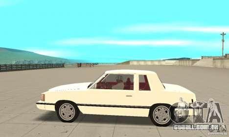 Dodge Aries 1983 para GTA San Andreas esquerda vista