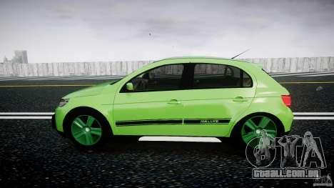 Volkswagen Gol Rallye 2012 v2.0 para GTA 4 esquerda vista