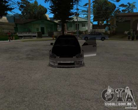Subaru Impreza (exclusive) para GTA San Andreas vista direita