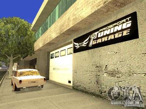 [HD] rede de garagens de automóveis de MyGame para GTA San Andreas por diante tela