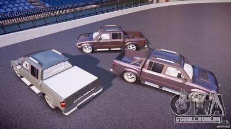 Chevrolet S10 para GTA 4 rodas