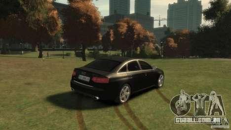 Audi RS6 v.1.1 para GTA 4 traseira esquerda vista