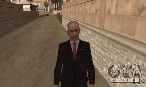 Vladimir Vladimirovich Putin para GTA San Andreas