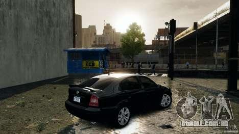 Skoda Octavia v.1.0 para GTA 4 traseira esquerda vista