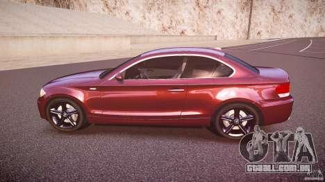 BMW 135i Coupe v1.0 2009 para GTA 4 esquerda vista