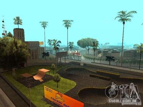 New SkatePark para GTA San Andreas segunda tela