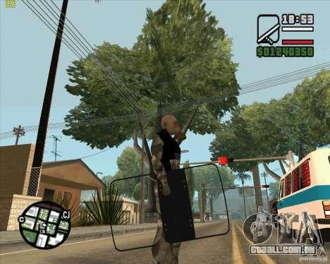 Escudo de armadura de Call of Duty Modern Warfar para GTA San Andreas segunda tela