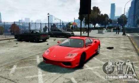 Ferrari 360 modena para GTA 4 esquerda vista