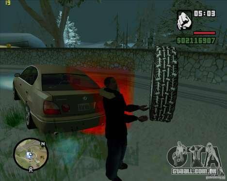Pneus sobressalentes para GTA San Andreas