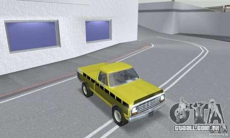 Dodge Prospector 1984 para GTA San Andreas vista interior