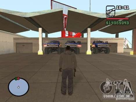 Off-Road v 2.0 de rota para GTA San Andreas terceira tela