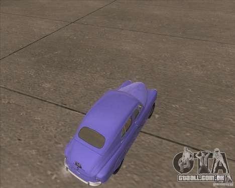 GAZ M72 para GTA San Andreas vista direita
