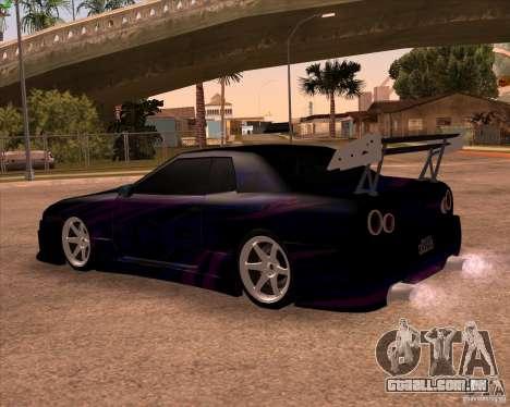 Elegy 0.2 para vista lateral GTA San Andreas