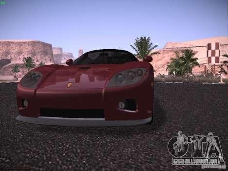 Koenigsegg CCX 2006 para GTA San Andreas vista inferior