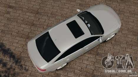 Audi RS6 2010 v1.1 para GTA 4 vista direita
