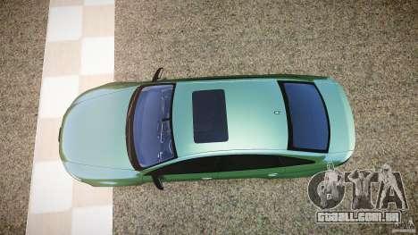 Audi RS6 2009 para GTA 4 vista direita