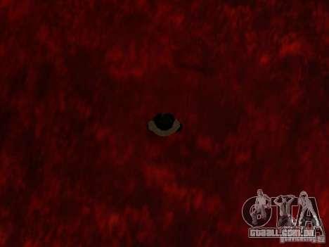 Lava para GTA San Andreas sexta tela