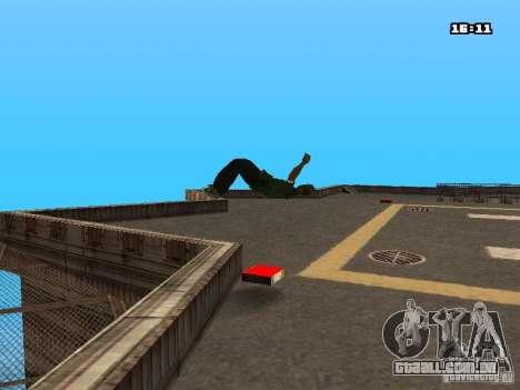 Parkour Mod para GTA San Andreas décima primeira imagem de tela