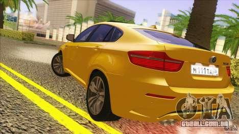 BMW X6M E71 v2 para GTA San Andreas vista direita