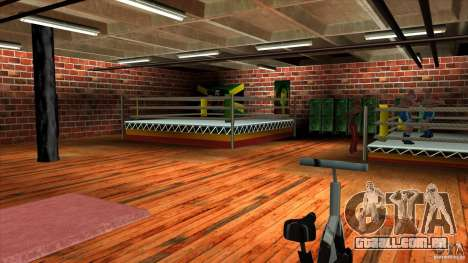 Ginásio para GTA San Andreas terceira tela