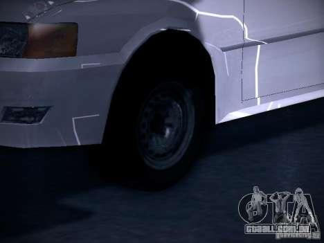 Toyota Chaser 100 para GTA San Andreas vista traseira