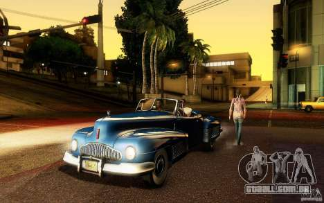 Buick Y-Job 1938 para GTA San Andreas vista superior