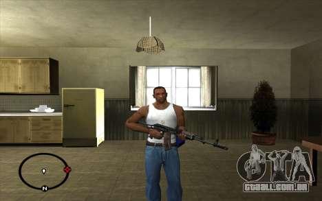 AKS-74 para GTA San Andreas segunda tela