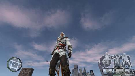 Assassins Creed II Ezio para GTA 4 terceira tela