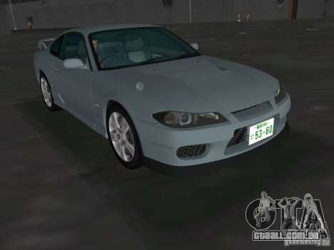 Nissan Silvia spec R Light Tuned para GTA Vice City vista direita
