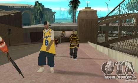 Substituir todos os skins Los Santos Vagos Gang para GTA San Andreas terceira tela